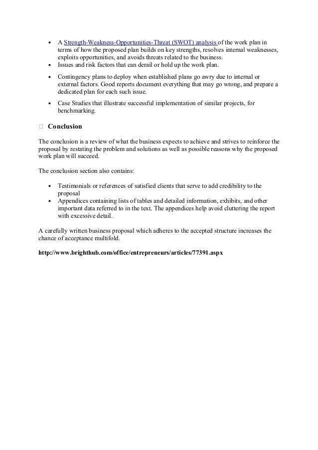 Business proposals – Business Proposals