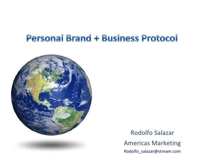 Rodolfo Salazar Americas Marketing [email_address]