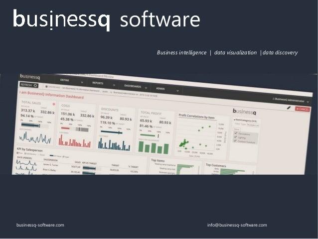 businessq-software.com info@businessq-software.com software Business intelligence | data visualization | data discovery