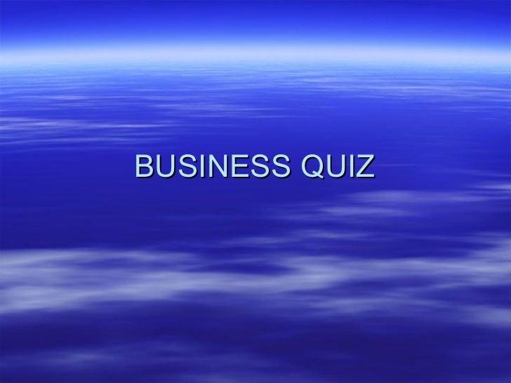 Business quiz tamil