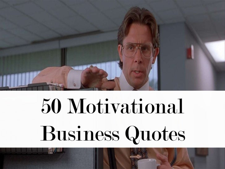 Business Plan Quotes