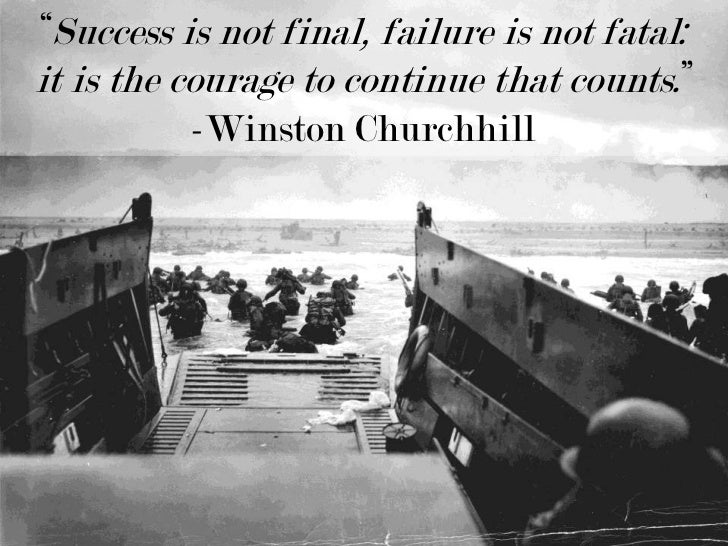 Success Is Not Final Failure