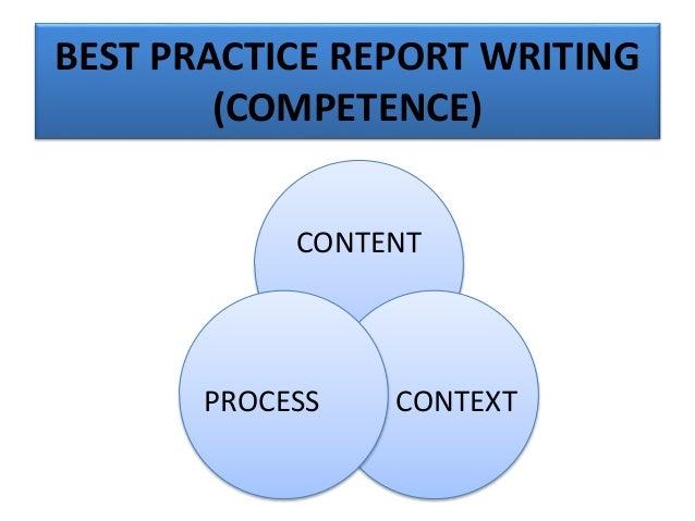 EFFECTIVE REPORT CONTENT