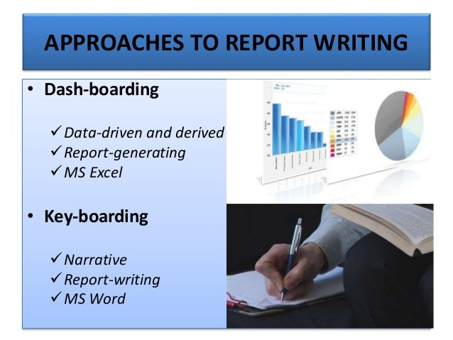 OBJECTIVES OF BUSINES REPORT WRITING
