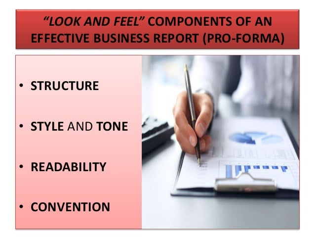 effective business report writing skills