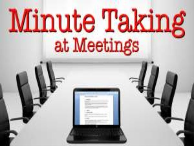 PREPARATION (PRE-MEETING) • Obtain the meeting agenda, minutes from the last meeting, and any background documents to be d...