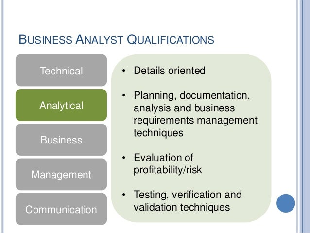 Business requirements gathering and analysis business analyst qualifications wajeb Gallery