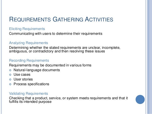 report requirements gathering template.html