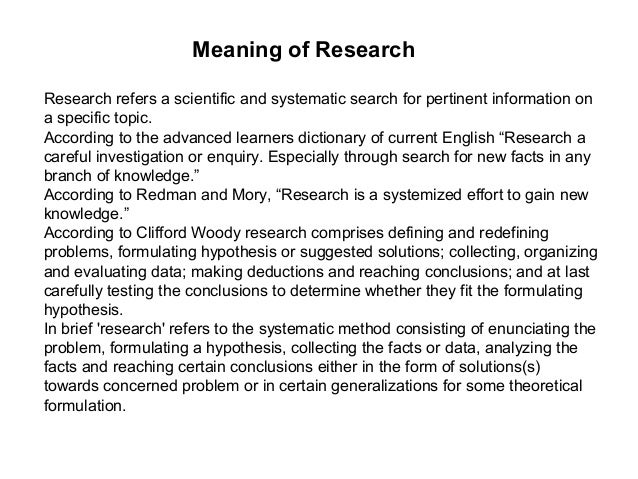 "clifford woody research comprises defining and redefining problems Fred kerlinger and hb lee according to clifford woody, ""research  comprises defining and redefining problems formulating hypothesis or  suggested."