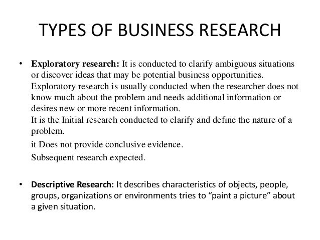 business homework types
