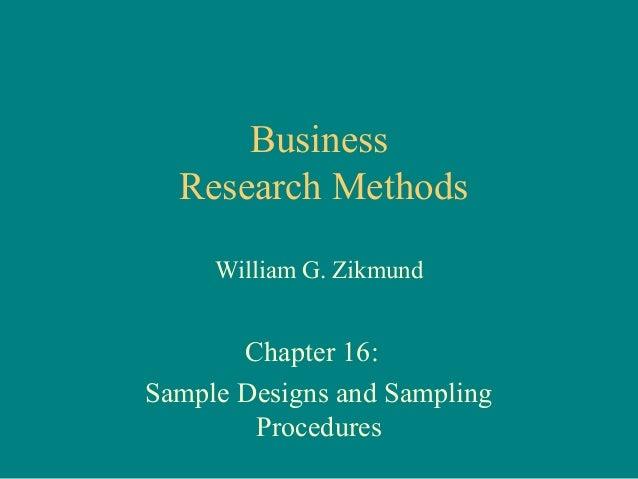 Ppt on sampling design in research methodology