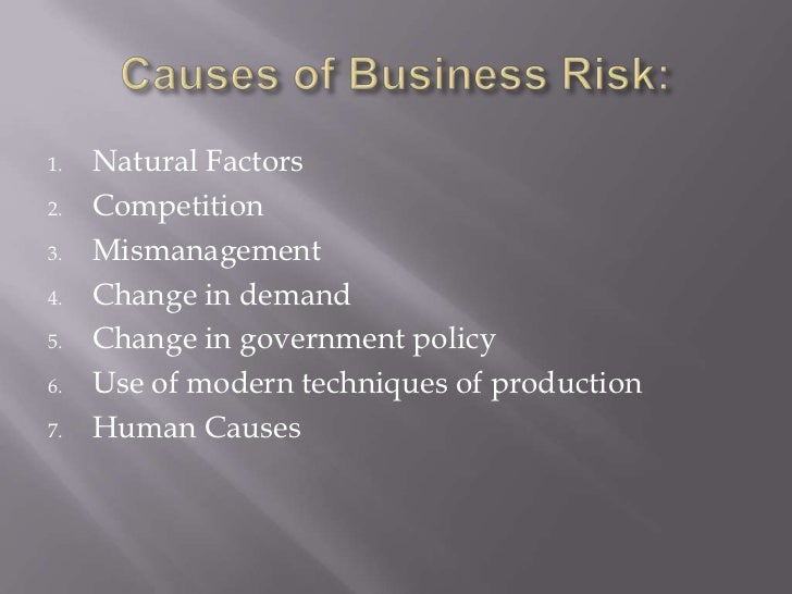 business risk Take these steps to put an initial risk management plan into place at your company.