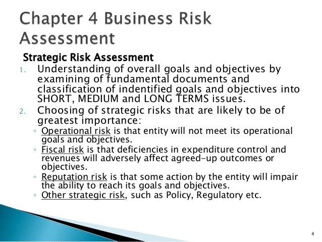 Business Risk Assessment