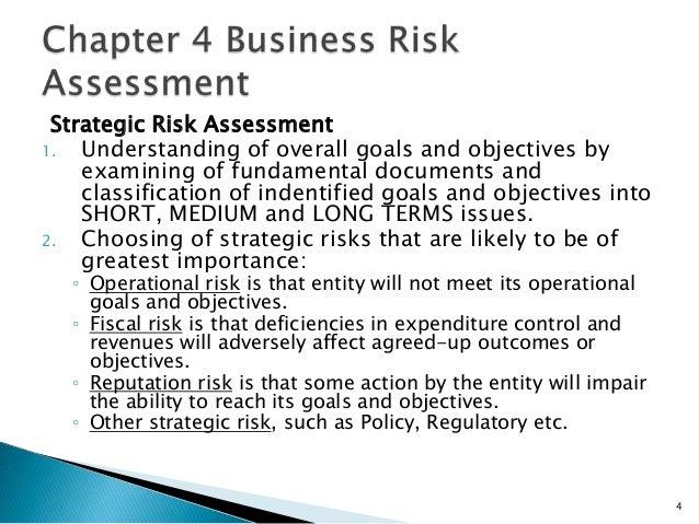 3; 4. Strategic Risk Assessment1.