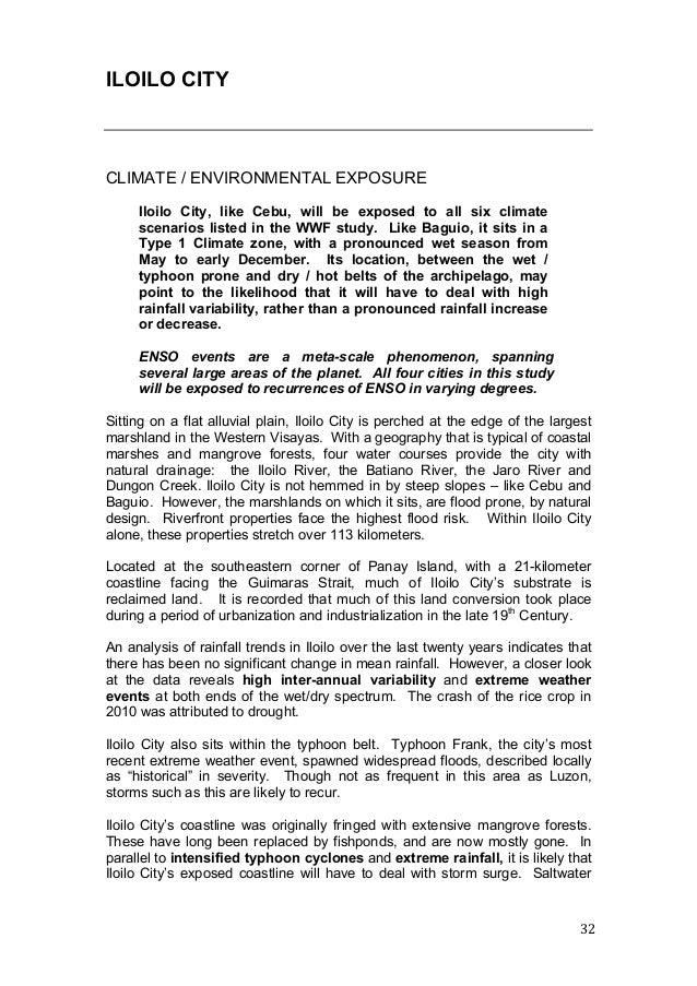 case study of urbanization in iloilo