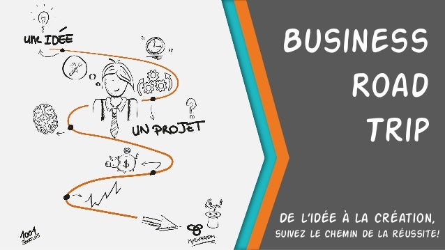 Business Road Trip De l'idée à la création, suivez le chemin de la réussite!