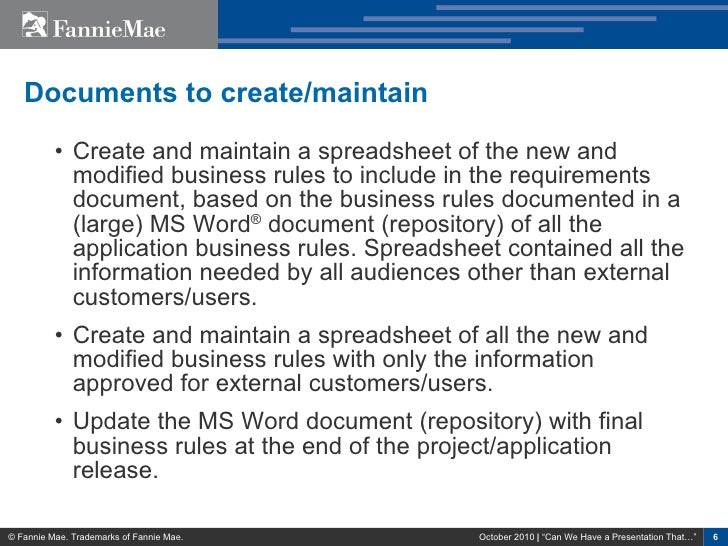 a business report the rules have changed video
