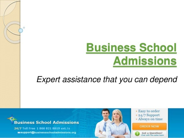 Business School Admissions Expert assistance that you can depend