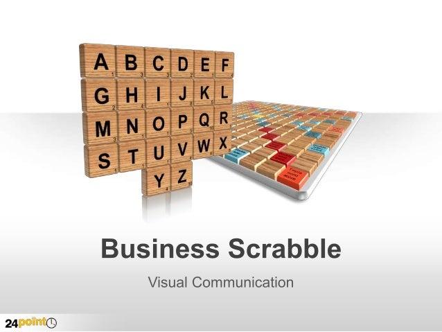 Business Scrabble