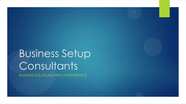 how to set up a business