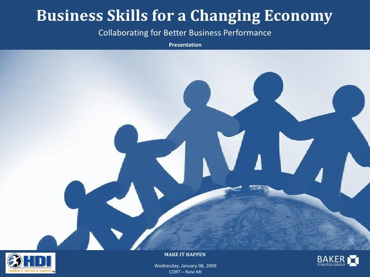 Business Skills for a Changing Economy        Collaborating for Better Business Performance                            Pre...