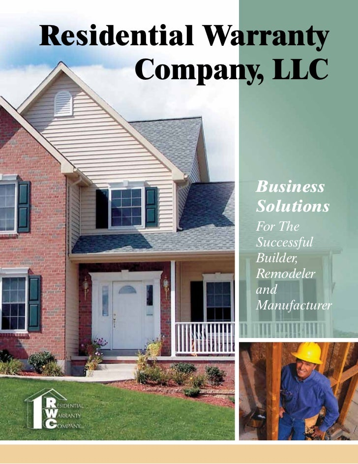Residential Warranty      Company, LLC              Business              Solutions              For The              Succ...