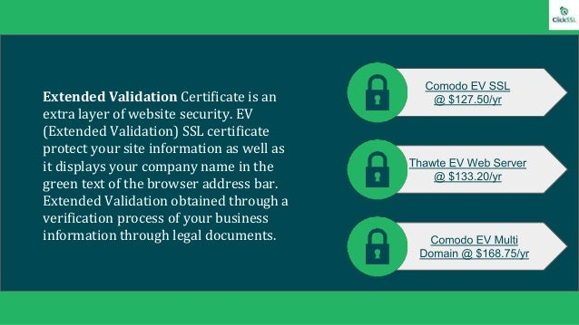 Business SSL Certificate Comparison