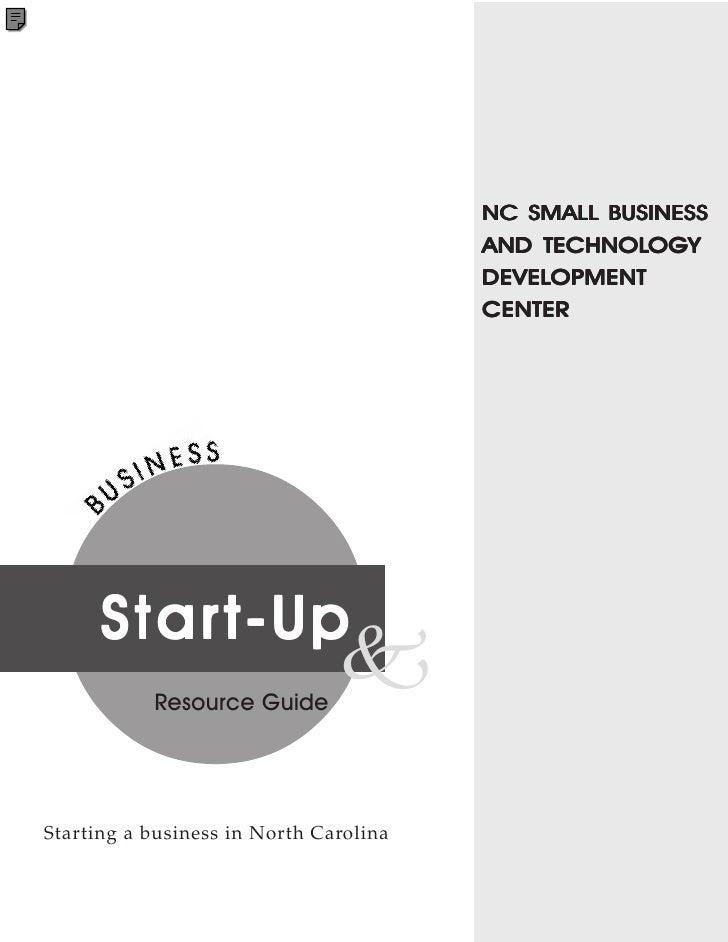 NC SMALL BUSINESS                                            TECHNOLOG                                                    ...