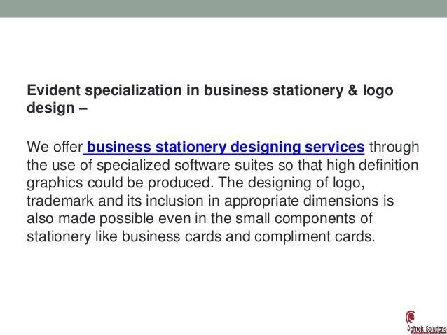 business stationary and logo design