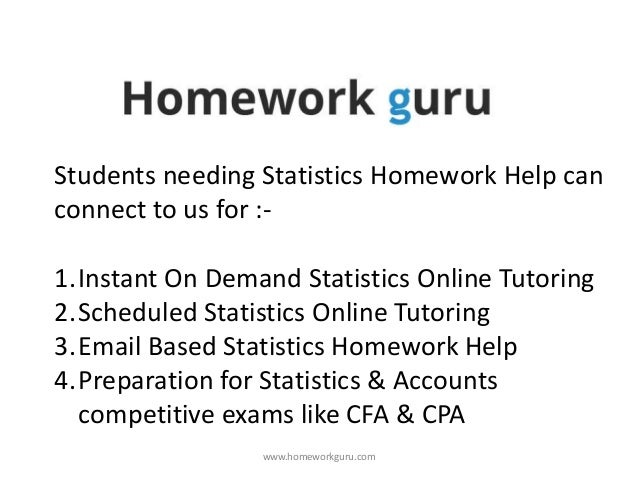 business statistics  48 students needing statistics homework help