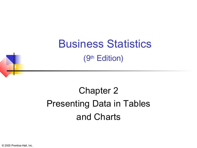 bussines statistic chapter 1