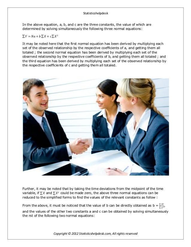 Business statistic homework help