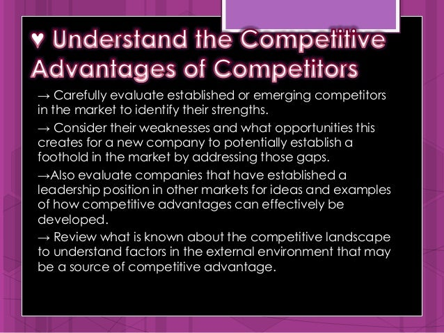 competitive advantage and entrepreneurial power Competitive dynamics  actions sustainable competitive market-power actions advantage is  characterized by entrepreneurial actions growth.
