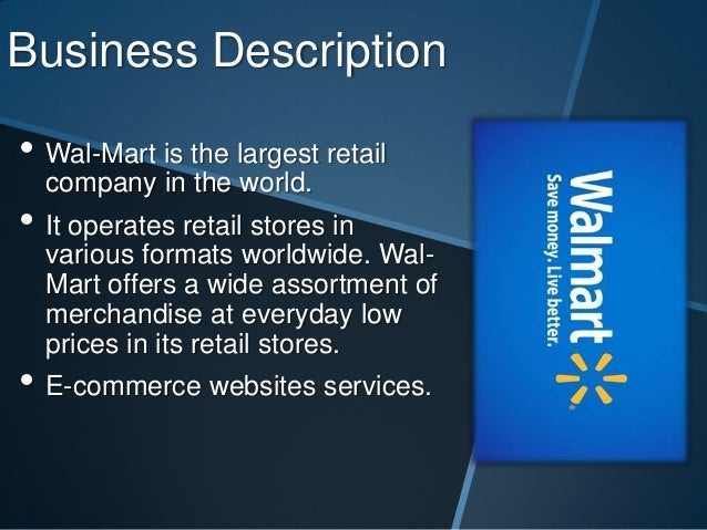 walmart strategic business plan