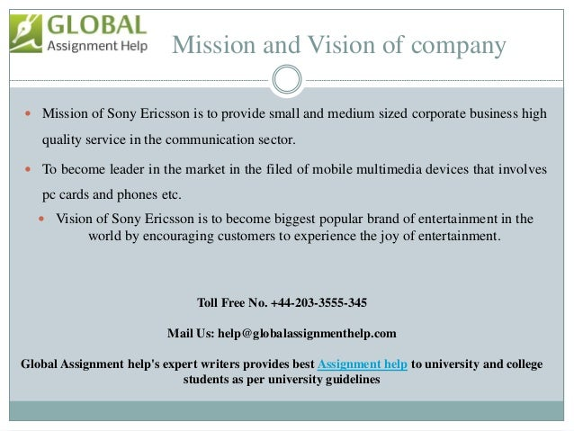 Sample PPT On Business Strategy by Global assignment Help