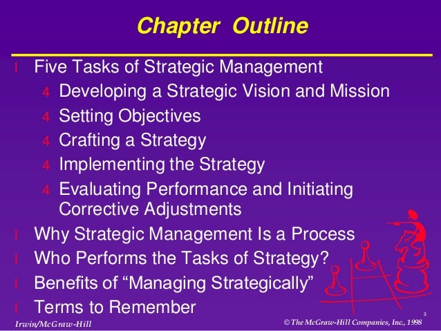 business strategy chapter 5 Chapter 5: answers to questions and problems 1 a when k = 16 and l = 16,   managerial economics and business strategy, 7e page 1 2 see table 5-1.