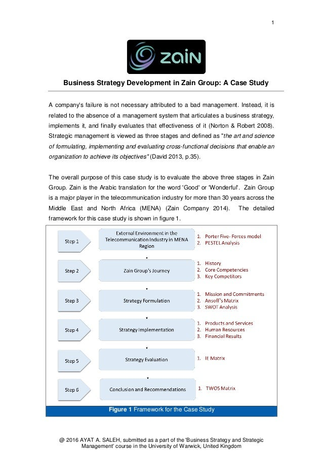 business case study analysis example