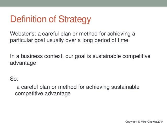 what is meant by sustainable competitive advantage essay