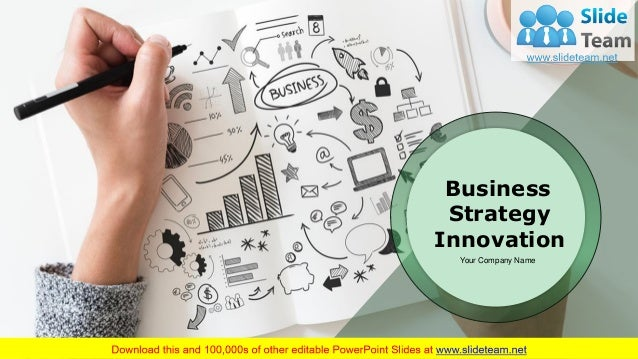 Business Strategy Innovation Your Company Name