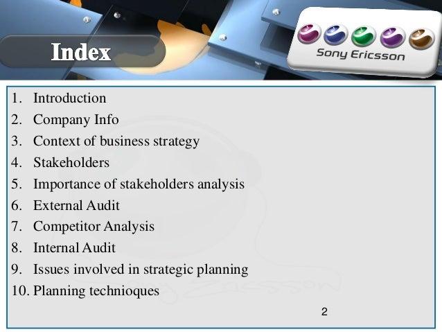 business strategy presentation