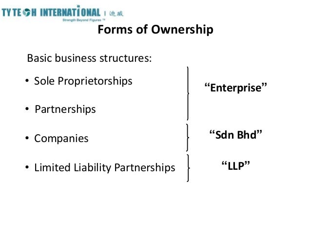 types of business structures pdf
