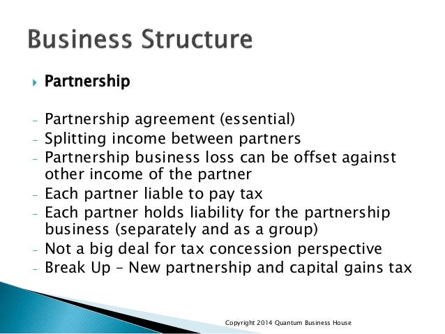 business structure amp tax strategies