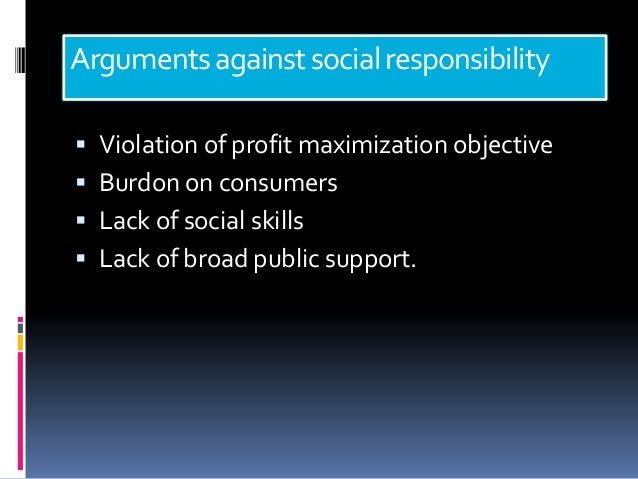Social Responsibilities of business & business ethics