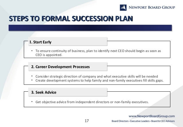 family business and succession planning