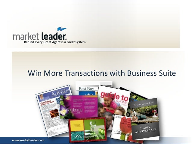 Win More Transactions with Business Suitewww.marketleader.com
