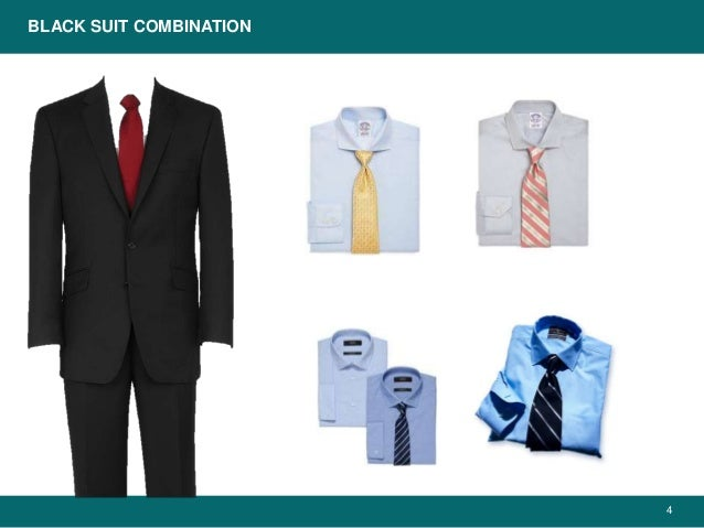 Business Suits Color Combinations