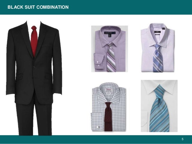 Color suit and combinations shirt Broken suit: