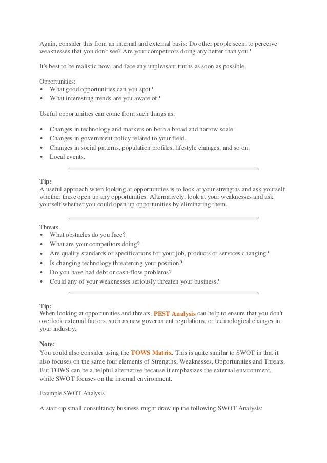 analysis essay format example