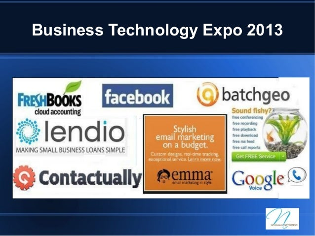 Business Technology Expo 2013