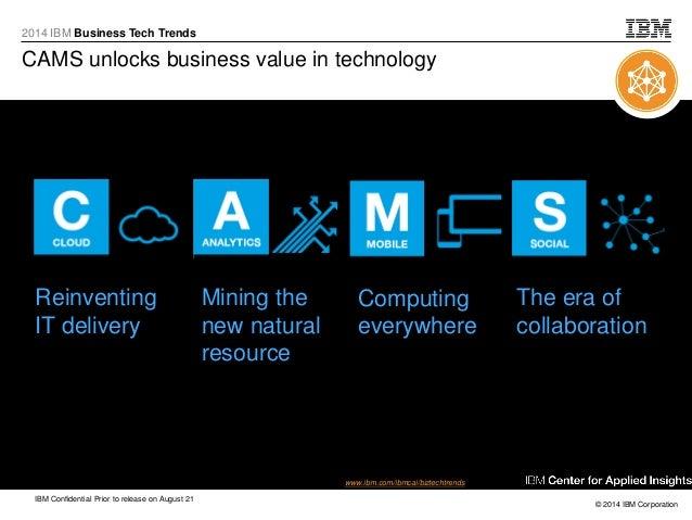 Business tech trends bp presentation august 2014 v2